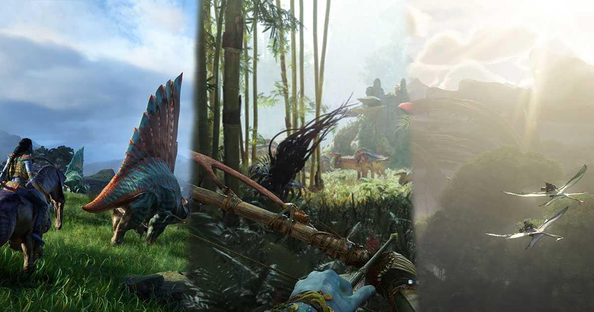 Avatar Frontiers of Pandora: el juego parece una maravilla de próxima generación (video)