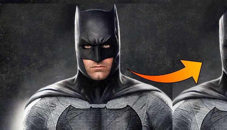 Batman sin orejas es completamente ridículo, la prueba en imágenes