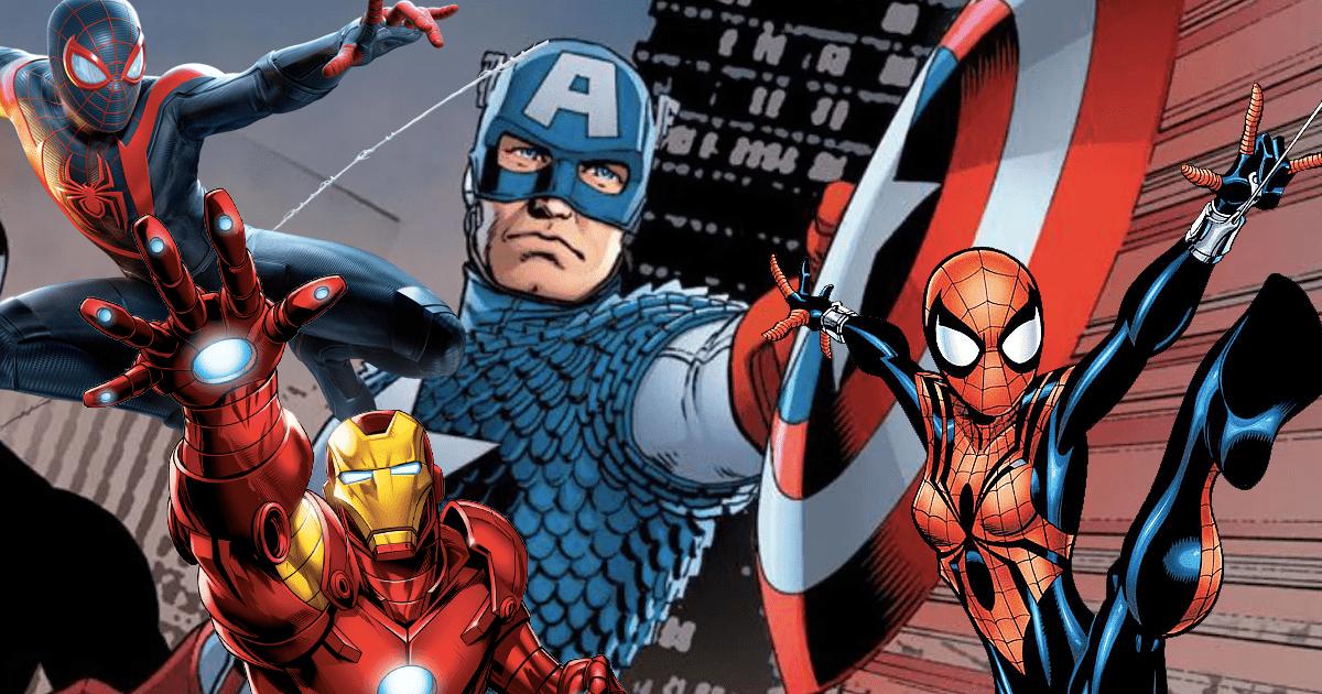 Marvel: cuando Iron Man, Spider-Man y otros superhéroes se ponen el disfraz de Capitán América