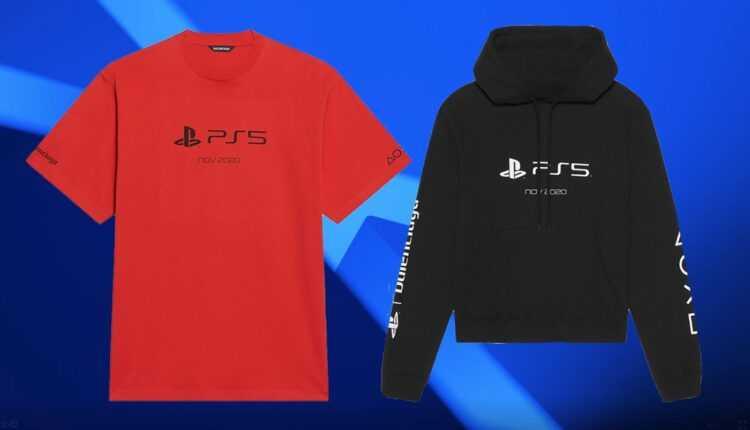 PlayStation 5: la ropa oficial es más cara que la consola PS5