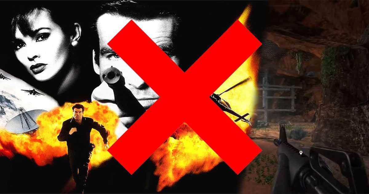 Remake de Goldeneye con el motor Far Cry 5 en crisis