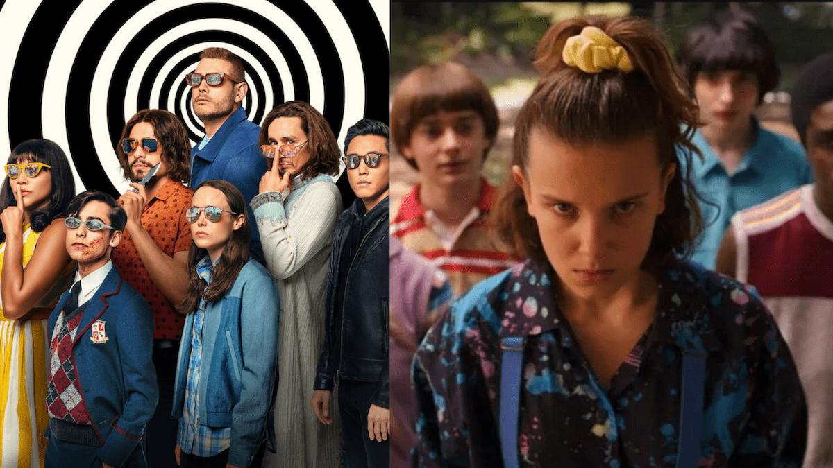 Serie de Netflix: Figuras pop rinden homenaje a Stranger Things, Umbrella Academy ...