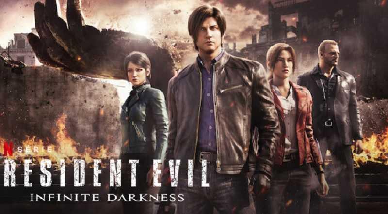 resident evil infinite darkness heure