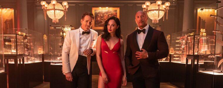 Aviso rojo: imagen y fecha de la película protagonizada por Dwayne Johnson, Ryan Reynolds y Gal Gadot