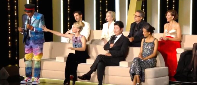 Cannes 2021: Spike Lee se equivoca y revela la Palma de Oro Titanium demasiado pronto