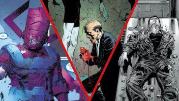 Marvel / DC: 10 personajes que sufrieron graves golpes en la batalla