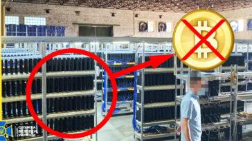 Ucrania: la policía descubre una granja de PS4 Pro alucinante, no fue para la criptomoneda