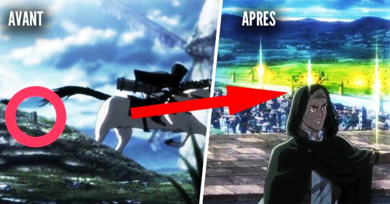 Attack on Titan: 15 detalles que seguro te perdiste en el anime