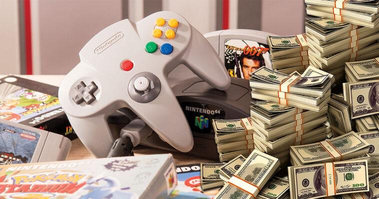 Nintendo 64: este juego de consola de culto se vendió por una suma récord