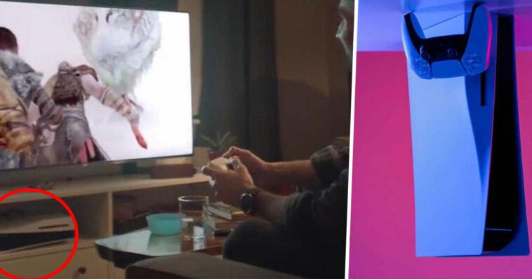 PS5: Sony instala su consola al revés en su último anuncio y atrae las burlas de los jugadores