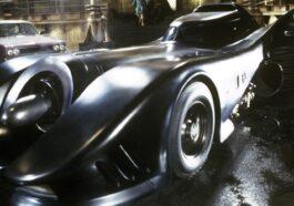 The Flash the movie: batmobile original y batcueva de Batman de Michael Keaton en imágenes