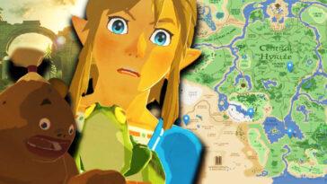 Zelda: crea un hermoso Google Maps para Zelda Breath of the Wild
