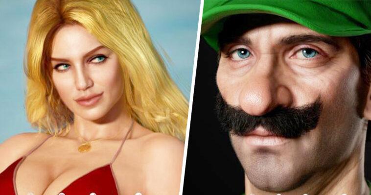 GTA, Red Dead, Mario: estos personajes se vuelven a dibujar en una versión realista (23 imágenes)