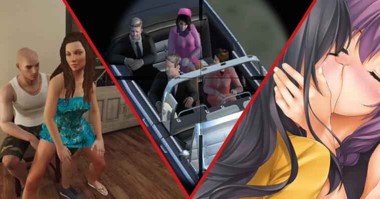 10 videojuegos que son demasiado perturbadores y abyectos para jugar
