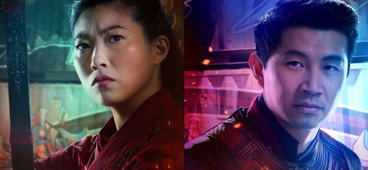 Shang-Chi y la leyenda de los diez anillos: los carteles de los personajes
