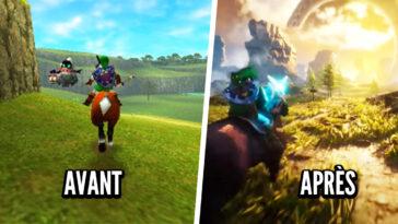 Zelda Ocarina of Time: esta escena en Unreal Engine 4 hace que el juego sea más hermoso que nunca