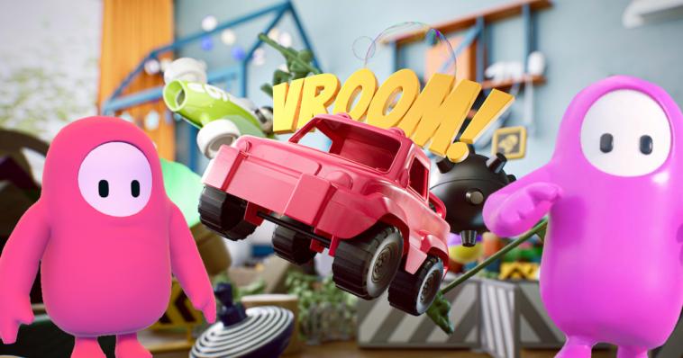 Se acerca el próximo Fall Guys, y está jugando con los autos