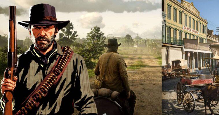 Red Dead Redemption 2: esta fotografía recoloreada muestra los impresionantes detalles de los gráficos del juego