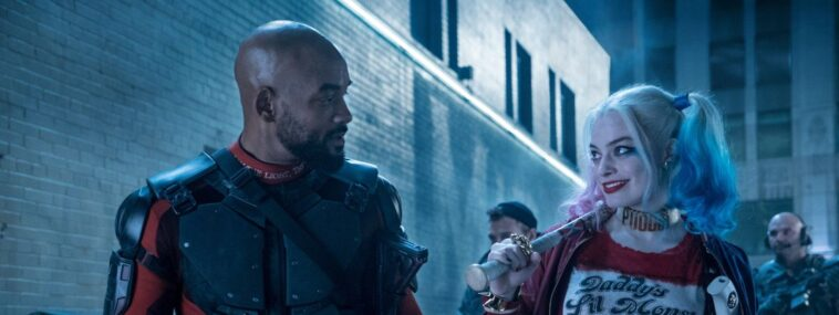 Escuadrón Suicida: ¡Deadshot y Harley Quinn se besan!  (Foto Ayer Cut)
