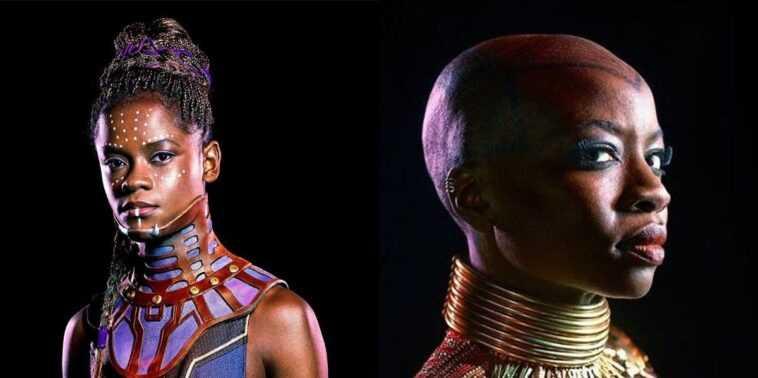 Black Panther 2: Chase con Shuri y Okoye en el set (videos)