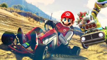GTA Online: estos fanáticos de Mario Kart recrean una carrera en el juego de Rockstar (video)