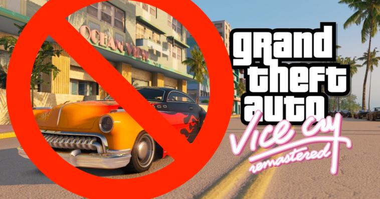 GTA: Take Two tiene estos mods eliminados de su juego insignia