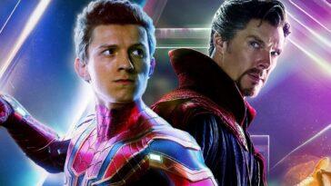 Spider-Man No Way Home: Doctor Strange y Spidey en Sanctum Sanctorum (en la foto)
