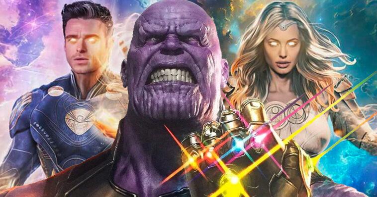 The Eternals: Thanos está de vuelta en esta oscura y trágica historia