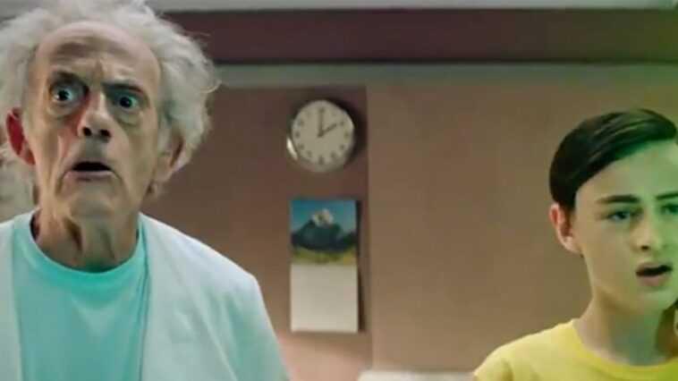 Rick y Morty temporada 5: ¡Christopher Lloyd es Rick Sanchez en acción en vivo!  (rompecabezas)