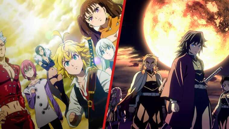 Los 10 equipos de anime más fuertes de todos los tiempos (más de 100.000 votos)