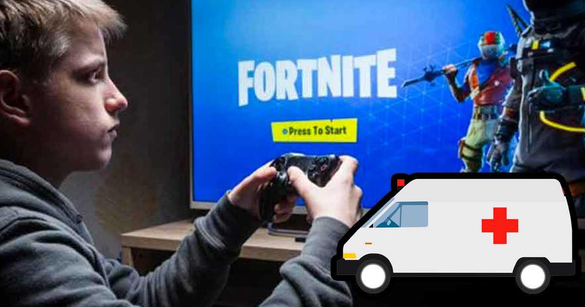 Fortnite: este adolescente fue hospitalizado de urgencia por su adicción