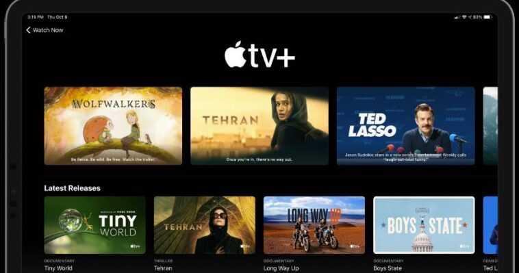 AppleTV +: malas noticias para la plataforma que compite con Netflix, Disney + y HBO Max