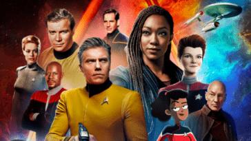 Día de Star Trek: fecha para el descubrimiento;  La extraña casta de los Nuevos Mundos Uhura;  remolque para Picard