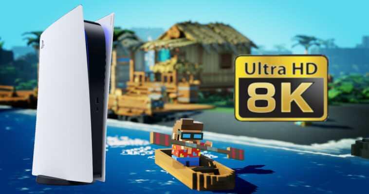 PS5: el primer juego en 8K / 60fps está disponible ... pero no en 8K