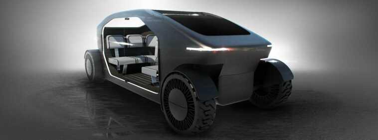 Temporada 4 de Westworld: un vehículo futurista en el set (foto)