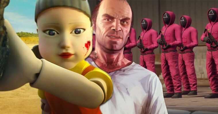 GTA V: después de Netflix, Squid Game invade los servidores de GTA Online