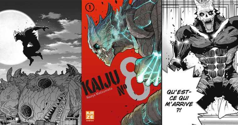 Kaiju N ° 8: monstruos gigantes y batallas épicas están en el menú de este emocionante shonen