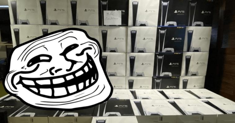 PS5: esta tienda japonesa tuvo una idea genial para trollear a los revendedores